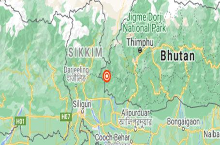 सिक्किममा भूकम्प, नेपालमा धक्का