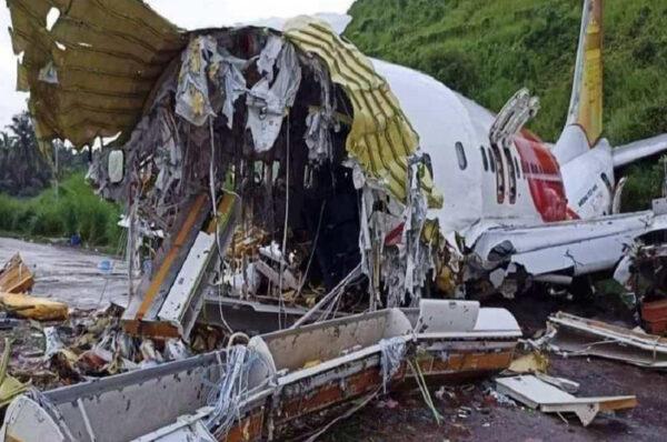 चालकको लापरबाहीले एयर एन्डिया एक्सप्रेसको विमान दुर्घटना